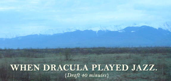 When Dracula Played Jazz.